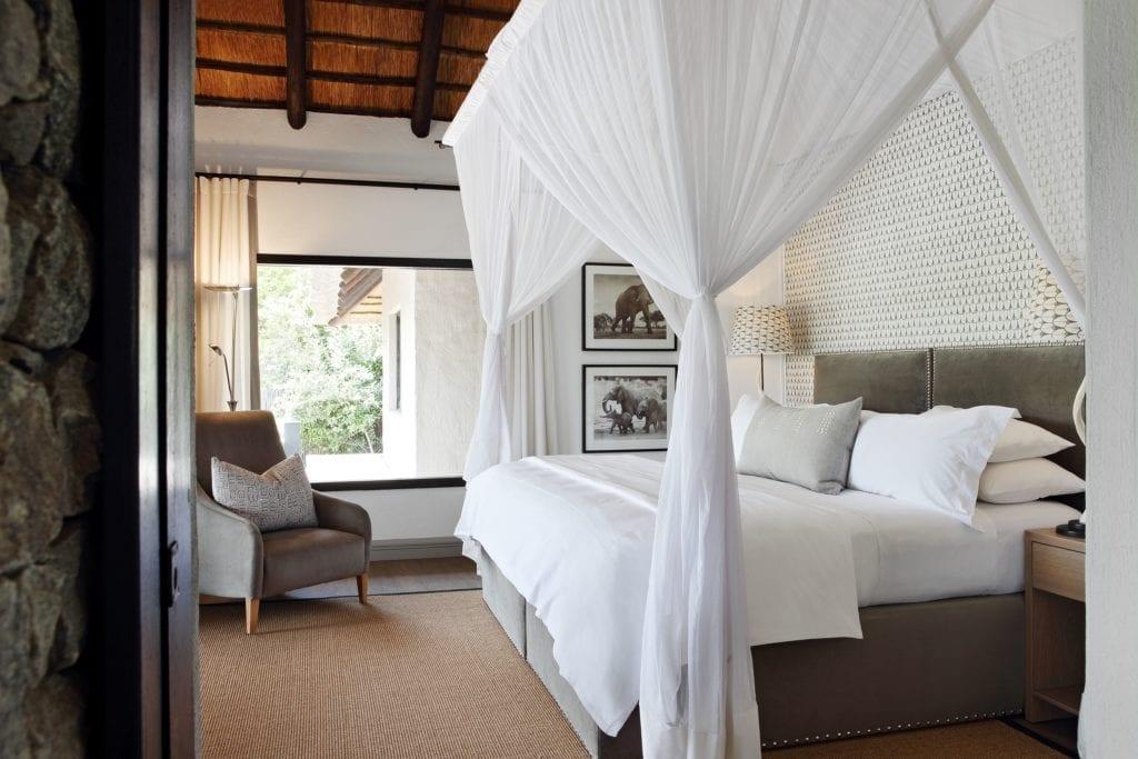 Bedroom Interior at Londolozi Granite Suites South Africa