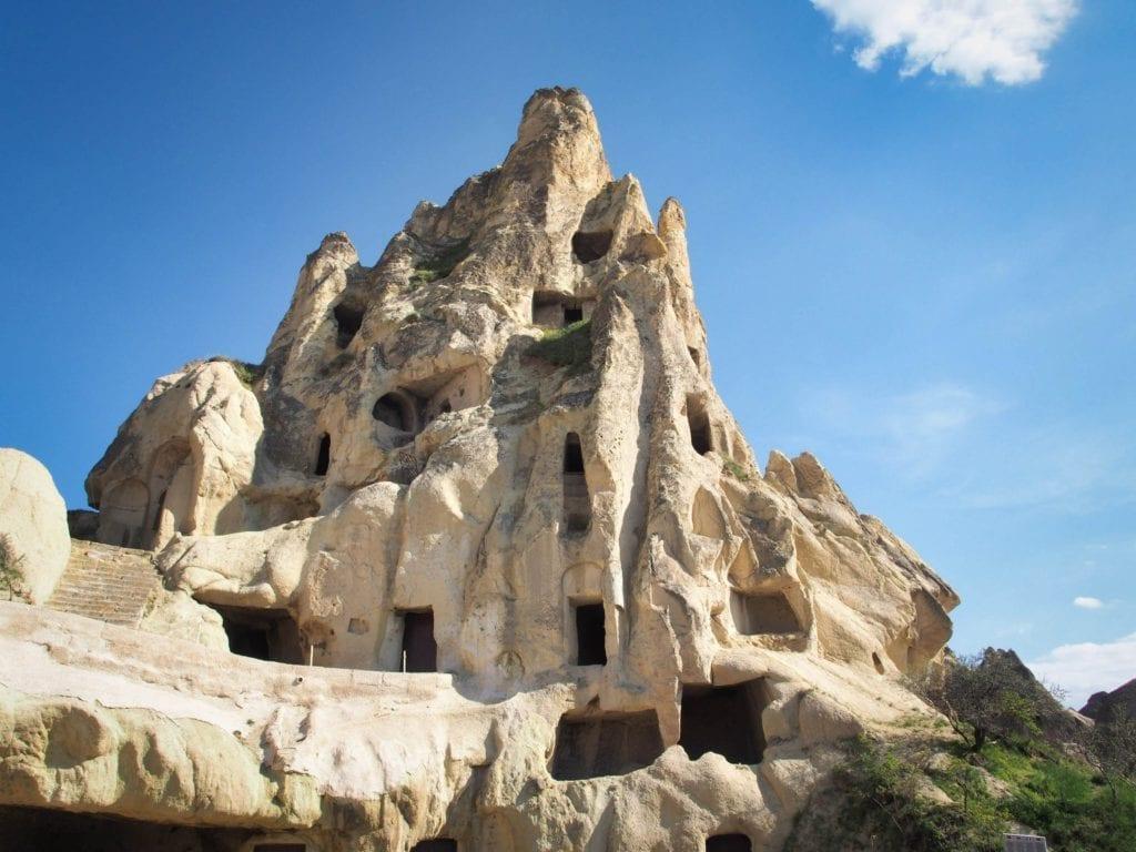 Rock Hewn Buildings of Cappadocia Turkey