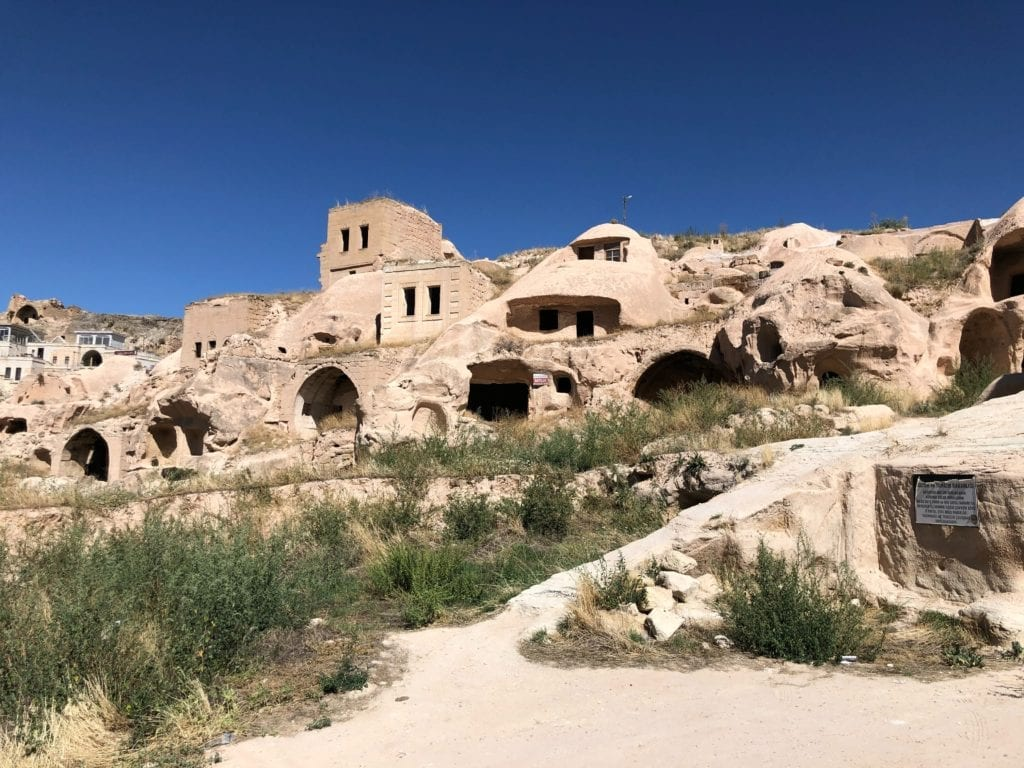 Rock Hewn Churches and Buildings of Cappadocia in Turkey