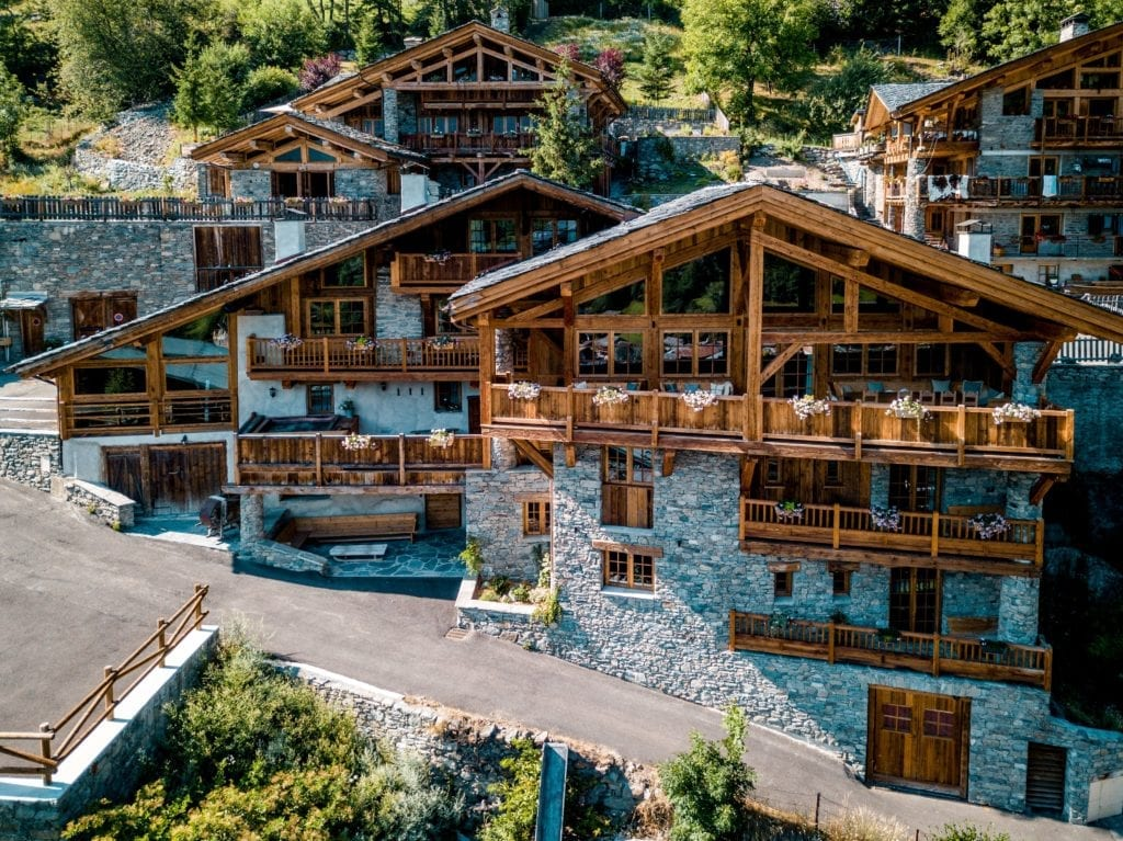 Chalet Hibou Exterior in Summer The Alps, France