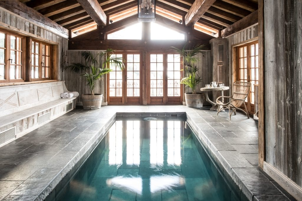 Chalet Pelerin Indoor Pool, The Alps France
