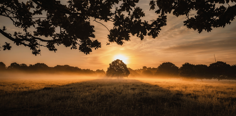 Countryside Sunrise England