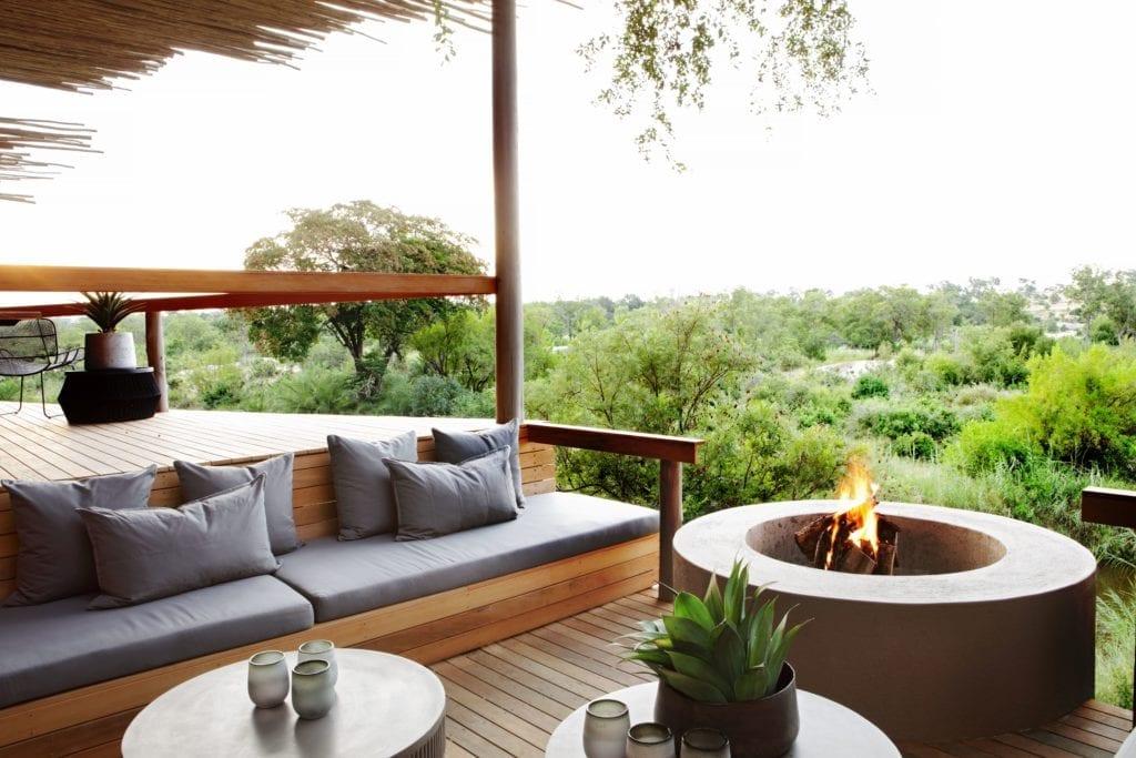 Firepit External Terrace Londolozi Granite Suites South Africa
