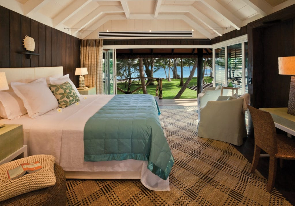 Guest Bure Suite at Dolphin Island in Fiji