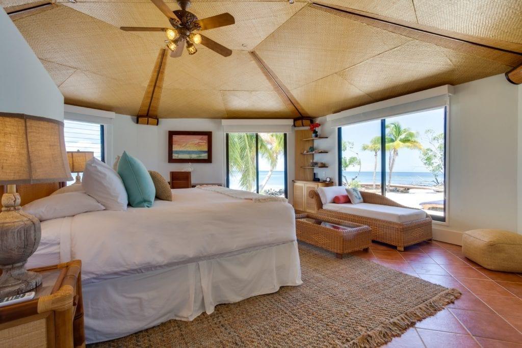 Interior Bedroom Ocean View at Royal Belize