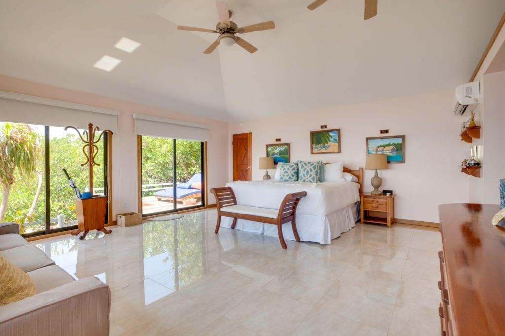 Interior of Bedroom at Royal Belize