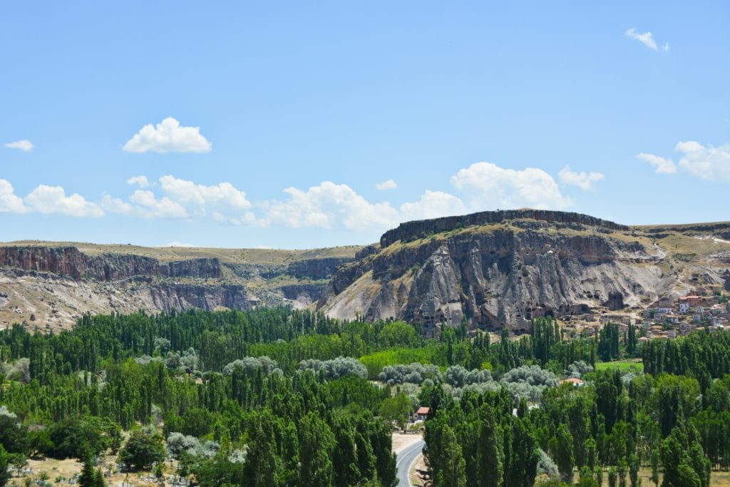 View of the Nature of Cappadocia Turkey