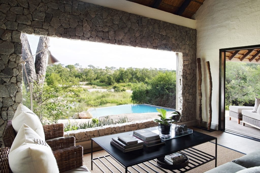 Open Walled Granite Suite Londolozi South Africa