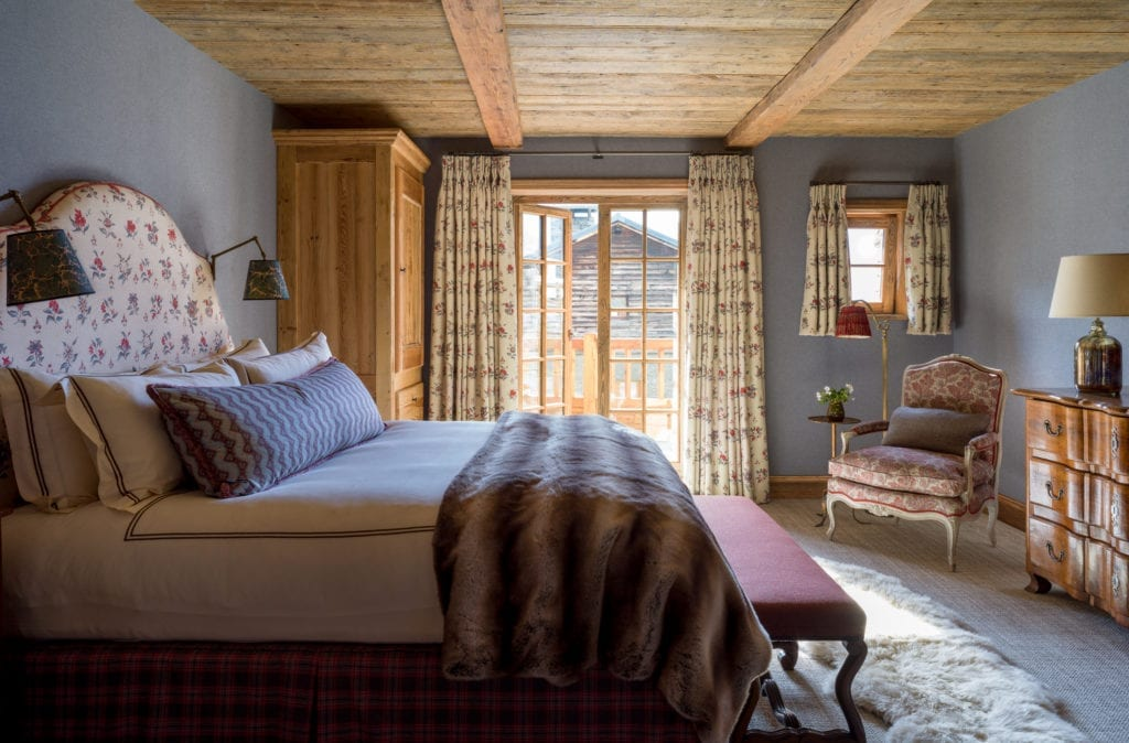 Room Interior at Chalet Hibou in The Alps, France
