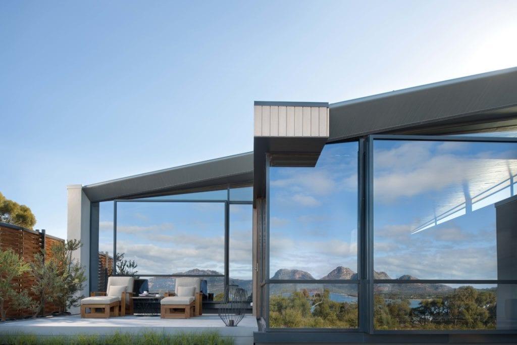 Saffire Freycinet Exterior of Suite Tasmania Australia
