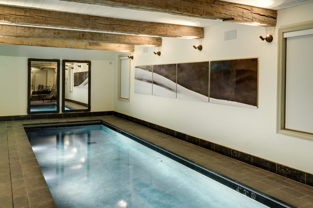 Indoor Pool at Scarp Ridge Lodge Colorado USA