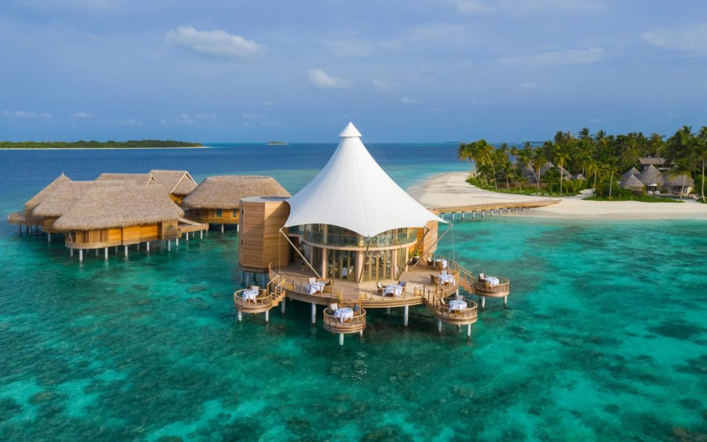 The Nautilus Maldives Exterior View Floating Ocean Room