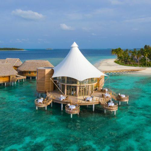 The Nautilus Maldives Exterior View Floating Ocean Room