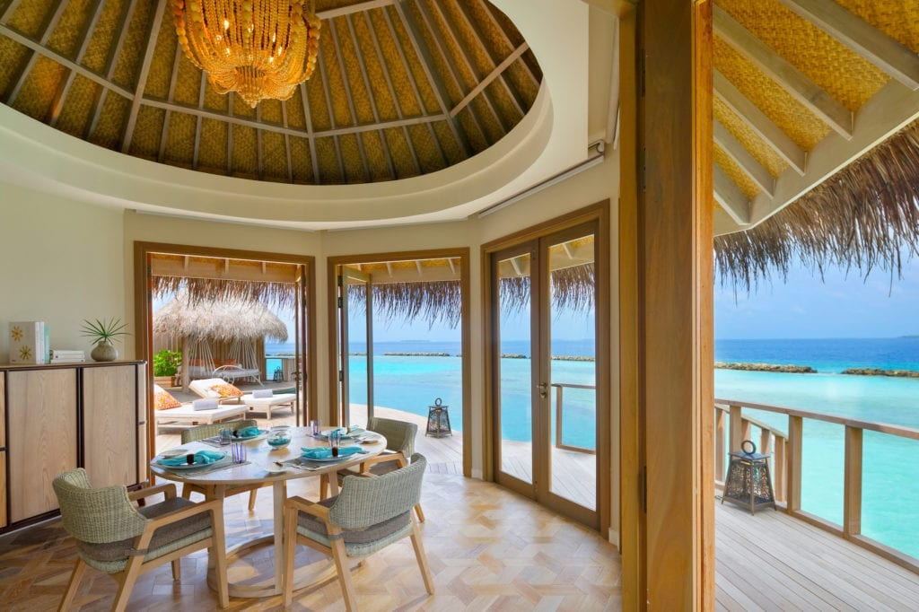 The Nautilus Maldives Interior Ocean View Room