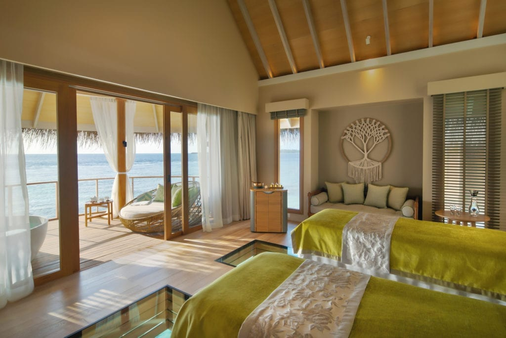 The Nautilus Twin Room Interior Ocean View Maldives