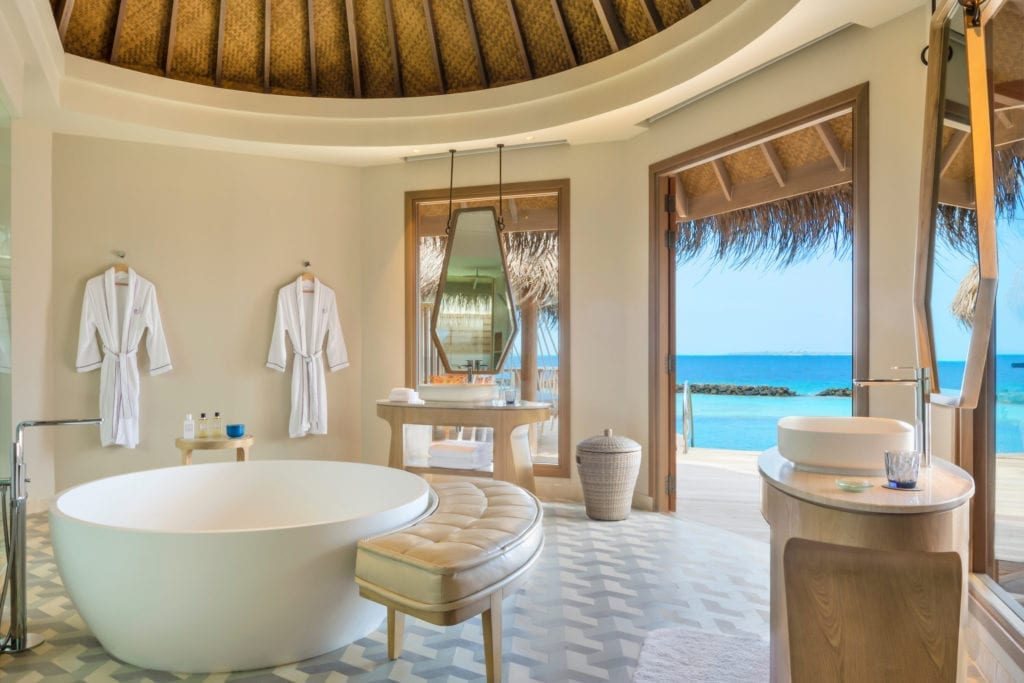 The Nautilus Maldives Ocean View Bathroom
