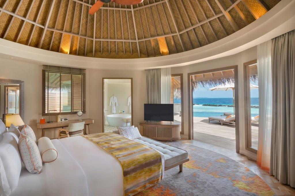 The Nautilus Ocean View Room Interior Maldives
