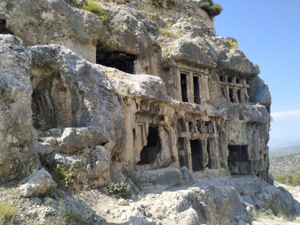 Tlos Abandoned City Ruins in Turkey