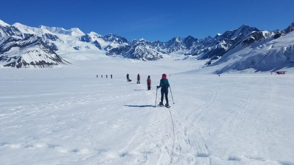 Alaska Glacier Ski Touring