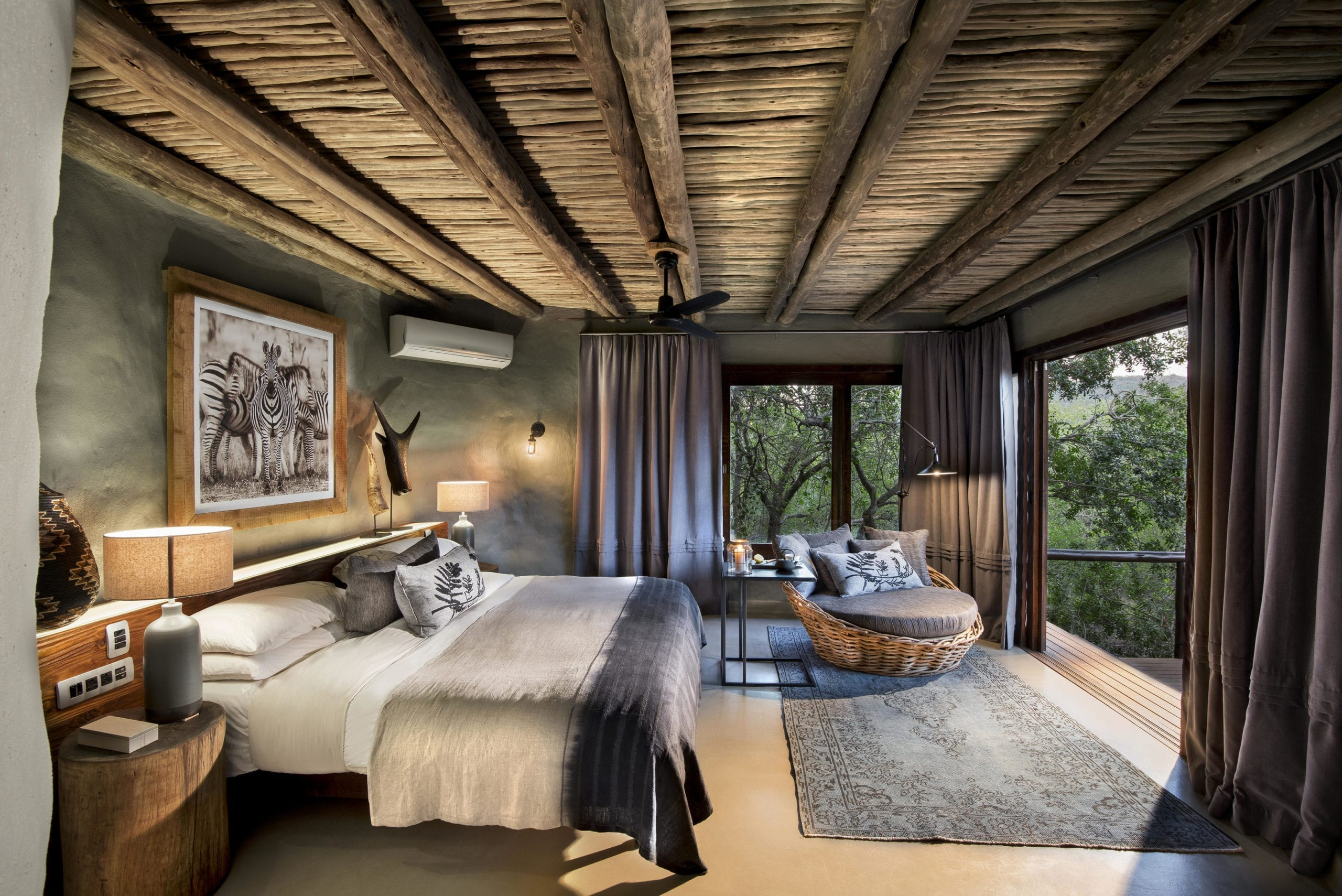 AndBeyond Phinda Rock Lodge bedroom interior