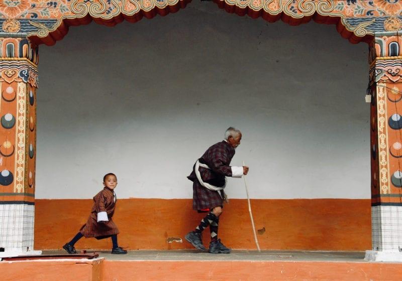 Bhutan Punakha Dzong Monastery