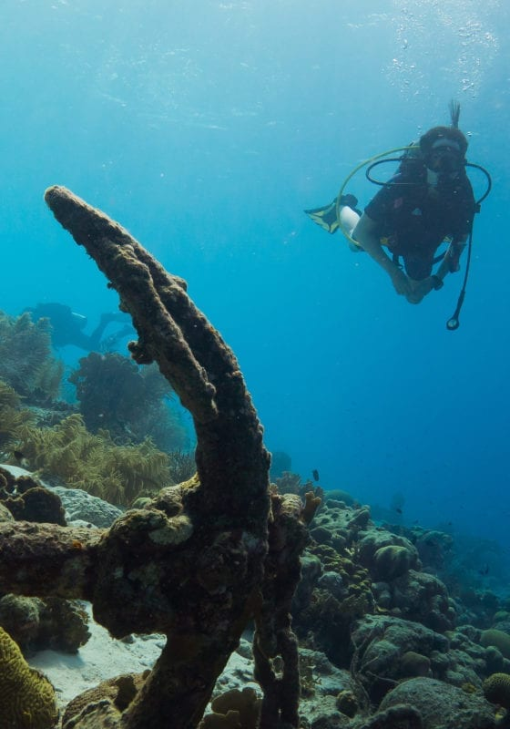 Wreck Diving Bonaire Caribbean