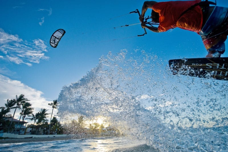 World-class kite surfing in Cabarete, Dominican Republic