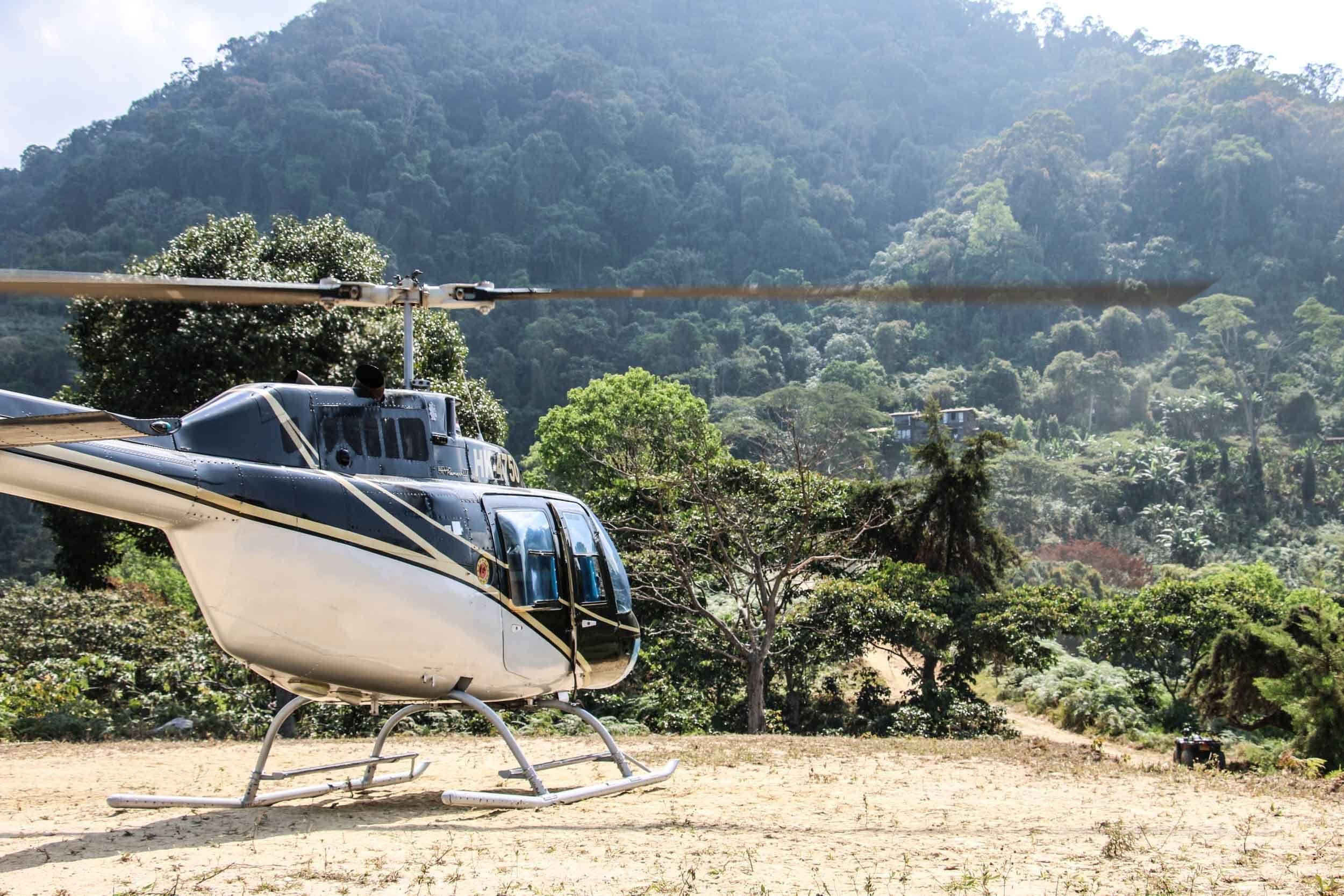 Colombia Heli Sierra Nevada Jungle