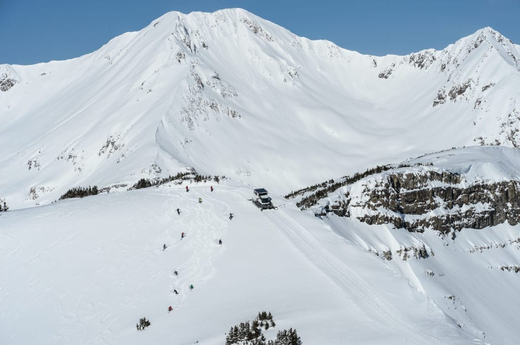 Colorado Cat Skiing Mountains Powder Snow, USA