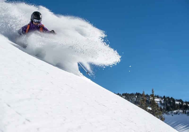 Colorado Cat Skiing Steep Powder