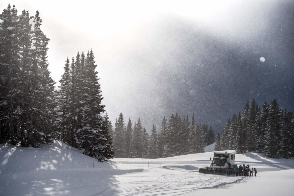 Colorado Cat Skiing Transport USA