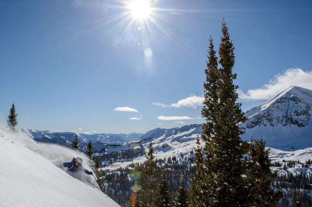 Colorado Cat Skiing Fresh Mountain Powder USA