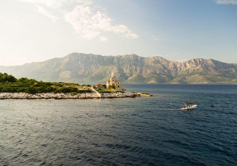 Coastline and Islands of croatia