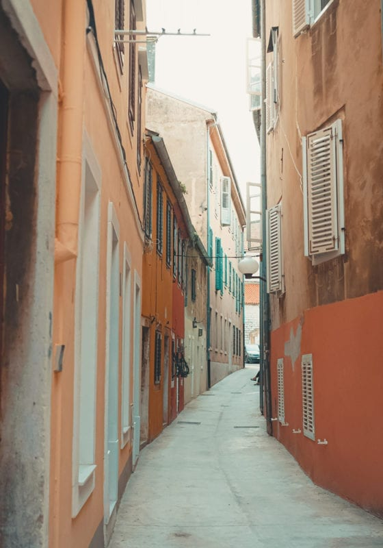 Old Town Streets and Alleys Croatia