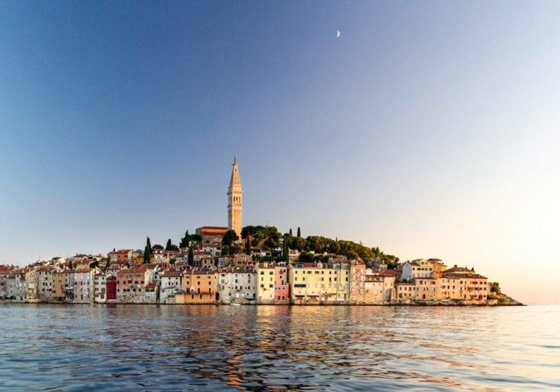 Town Coastline of Croatia
