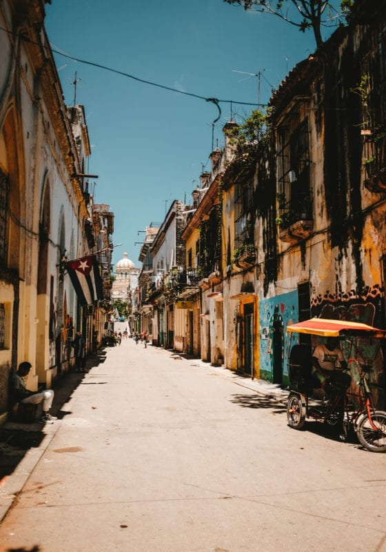 Cuba Old Town Streets