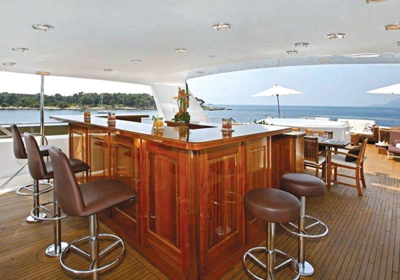 Upper deck bar on Daydream