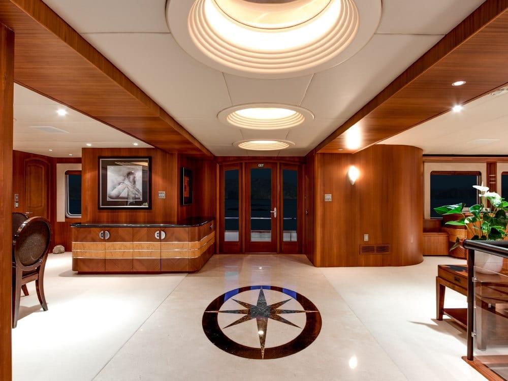 Sleek interior of Daydream