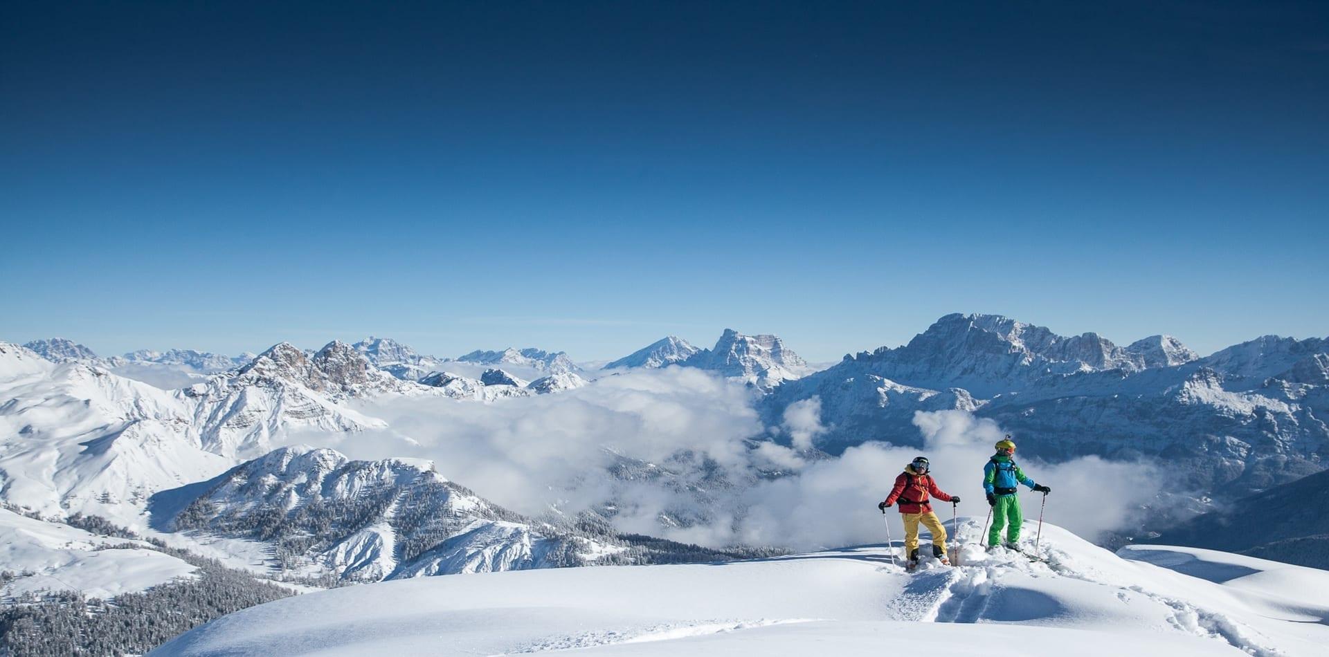 Hero image Dolomites Skiing