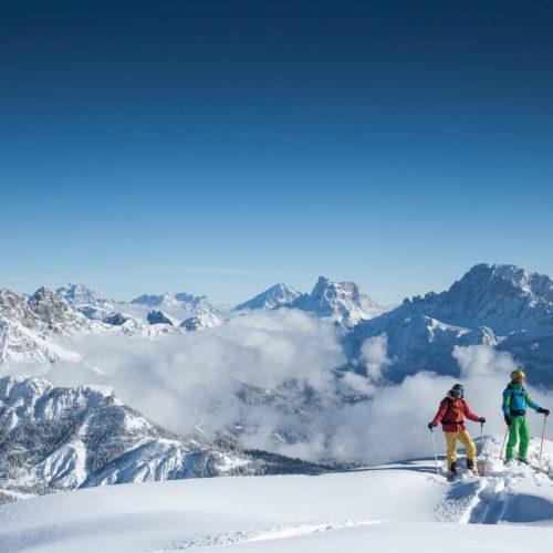 Italian Dolomites, Remote Ski Safari & World-Class Cuisine