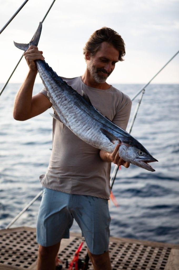 Fishing catch on Dunia Baru