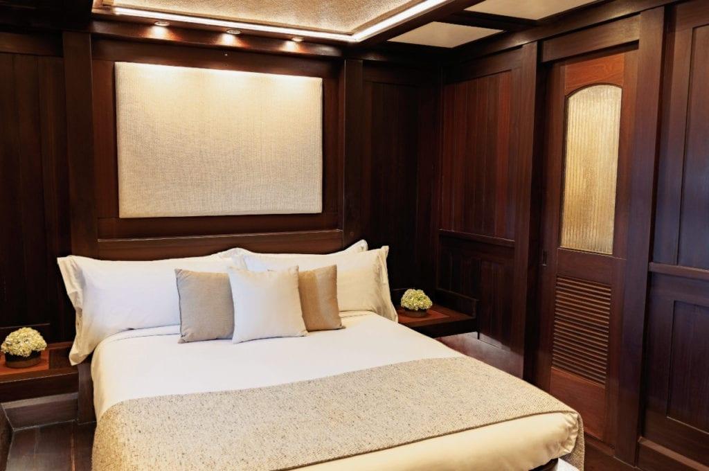 Bedroom on the Dunia Baru