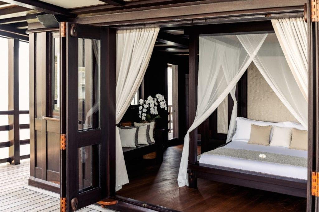 Master bedroom on the Dunia Baru