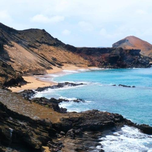 Galapagos Islands Ecuador Beach Coast