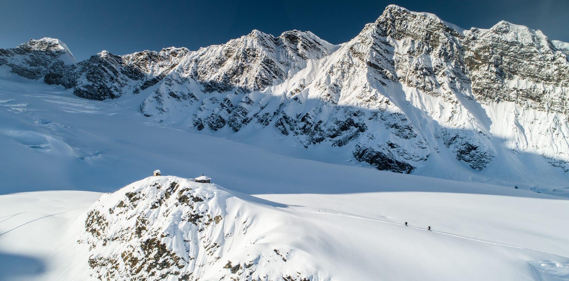 Hero Alaska Ski Touring Sheldon Chalet