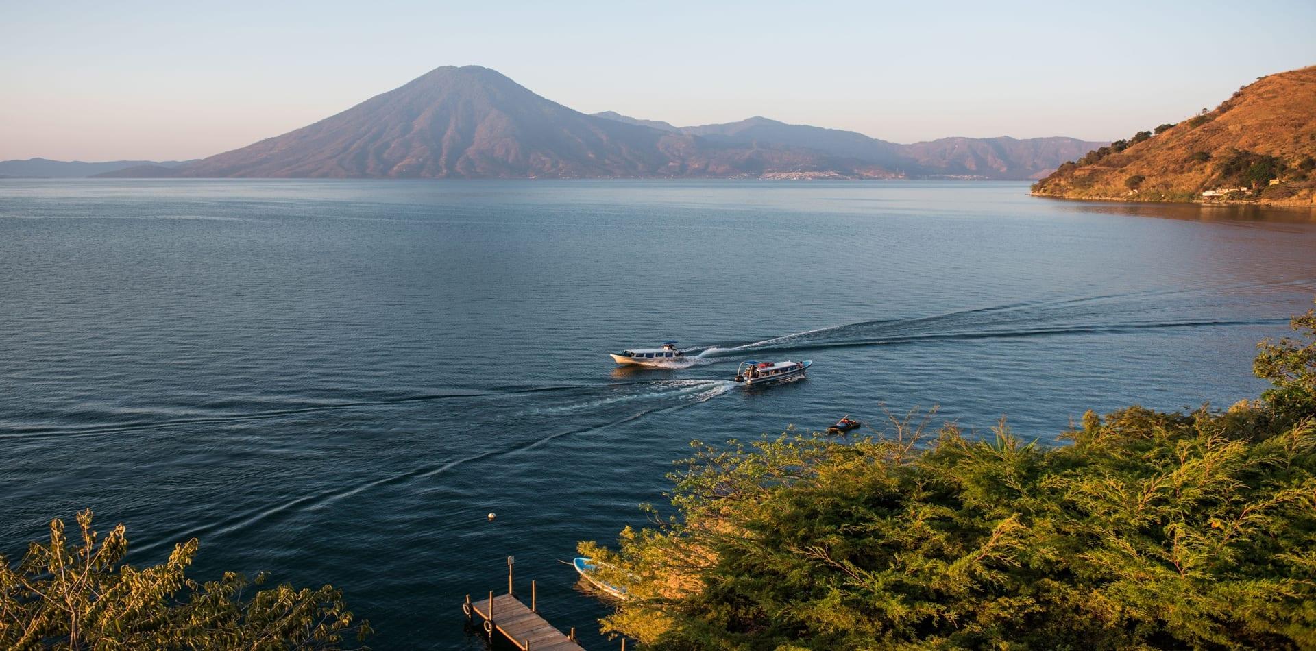 Hero Guatemala Lake Atitlan Volcano