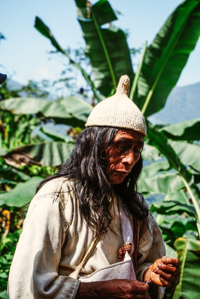 Indigenous Community Sierra Nevada Colombia