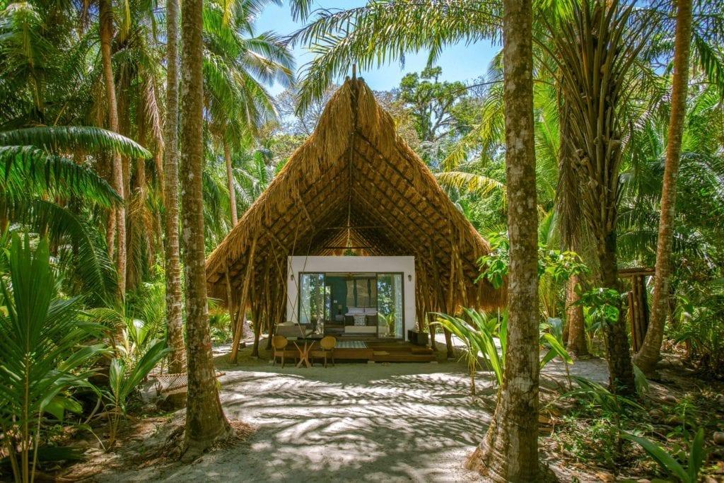 Isla Palenque beach bungalow exterior