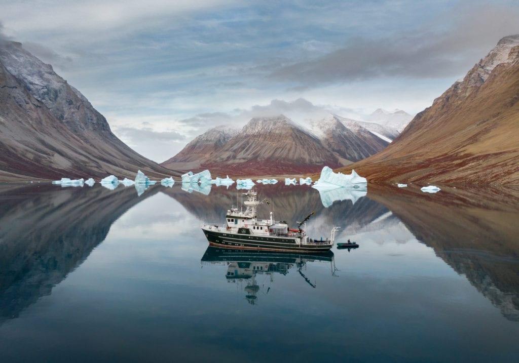 kinfish yacht svalbard