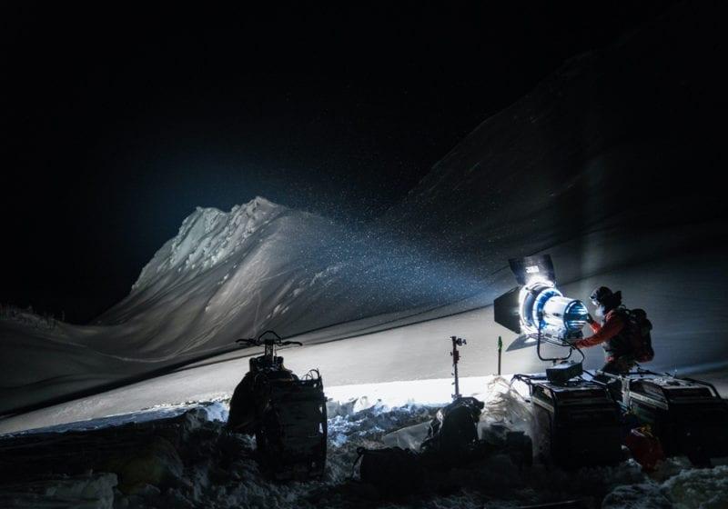 Night Skiing in British Columbia Canada